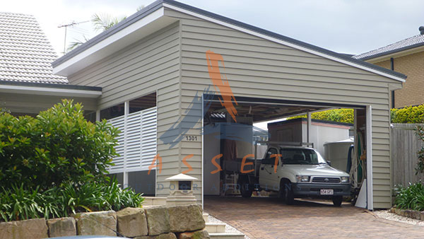 Look at our service to you free design and quote custom for Weatherboard garage designs