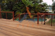 Multi level timber deck, Bulimba