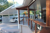 Build over style carport, stylish screens, Inala (2)