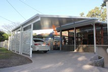 Build over style carport, stylish screens, Inala