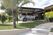Dutch gable style carport, stylish infill, Redbank Plains (1)