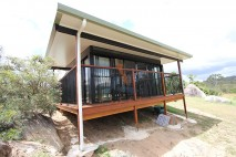 Flat angled patio, insulated, Mt Samson (3)