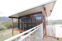 Flat angled patio, insulated, Mt Samson (4)