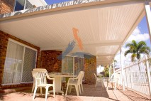 Flat style patio, single skin, Calamvale 1