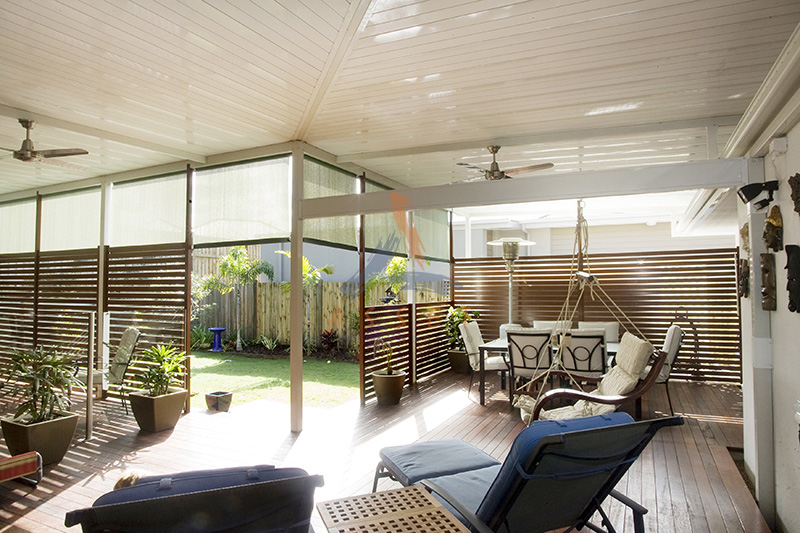 Single Skin Patio Roofing