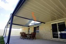 Gable & flat style patio,single skin, Flinders View 1