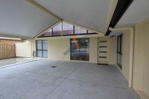 Gable style carport, insulated, Redbank Plains