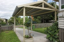 Gable style carport, traditional, Ipswich