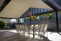 Gable style patio, gyprock lined, Eight Mile Plains 1