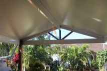 Gable style patio, insulated, Flinders View (1)