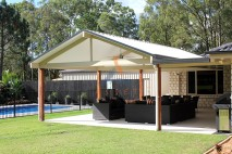 Gable style patio, insulated, Logan Reserve (1)
