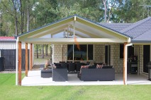 Gable style patio, insulated, Logan Reserve (2)