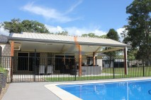 Gable style patio, insulated, Logan Reserve (3)