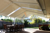 Gable style patio, single skin, Calamvale (1)