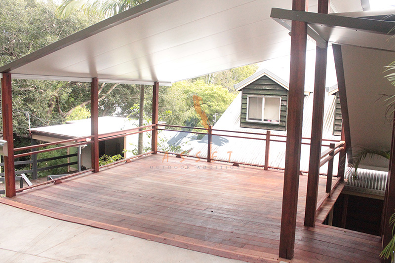 Carports ipwich brisbane brisbane carport builders for Carport deck