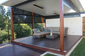 Low level deck around pool, Sinnamon Park (2)