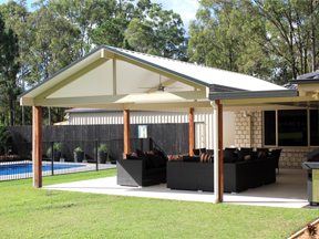 Patio design & build Brisbane