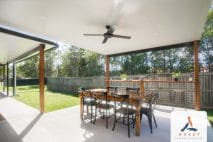 Insulated skillion patio Brisbane, Forest Lake.