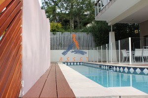 Pool deck, long life decking, St Lucia 2