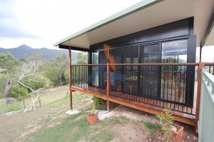 Split level deck and pool room, Mt Samson (3)